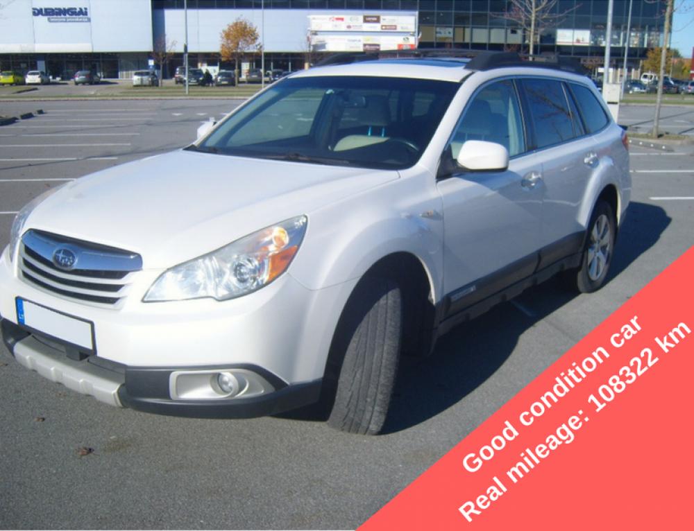 Parduodamas automobilis Subaru Outback 2011 metų yra autoplius nuoroda